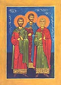 Greatmartyr Prince Bidzini and Martyrs Princes Elizabar and Shalvi, of Georgia