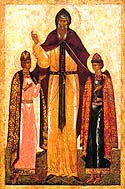 St. Theodore the Prince of Smolensk and Yaroslav