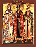 Holy Martyr and Confessor Michael and his councilor, Theodore, Wonderworkers of Chernigov
