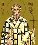 Hieromartyr Phocas the Bishop of Sinope