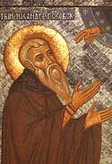Venerable Nicander the Hermit of Pskov
