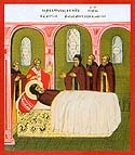 Repose of Venerable Sergius the Wonderworker, Abbot of Radonezh