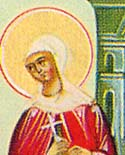 Martyr Epicharis of Rome