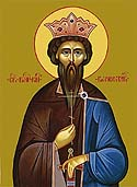 Martyr Wenceslaus the Prince of the Czechs