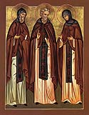 Venerable Schemamonk Cyril and Schemanun Maria, the parents of Saint Sergius of Radonezh