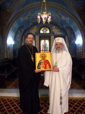 Patriarch Daniel & Fr John Behr
