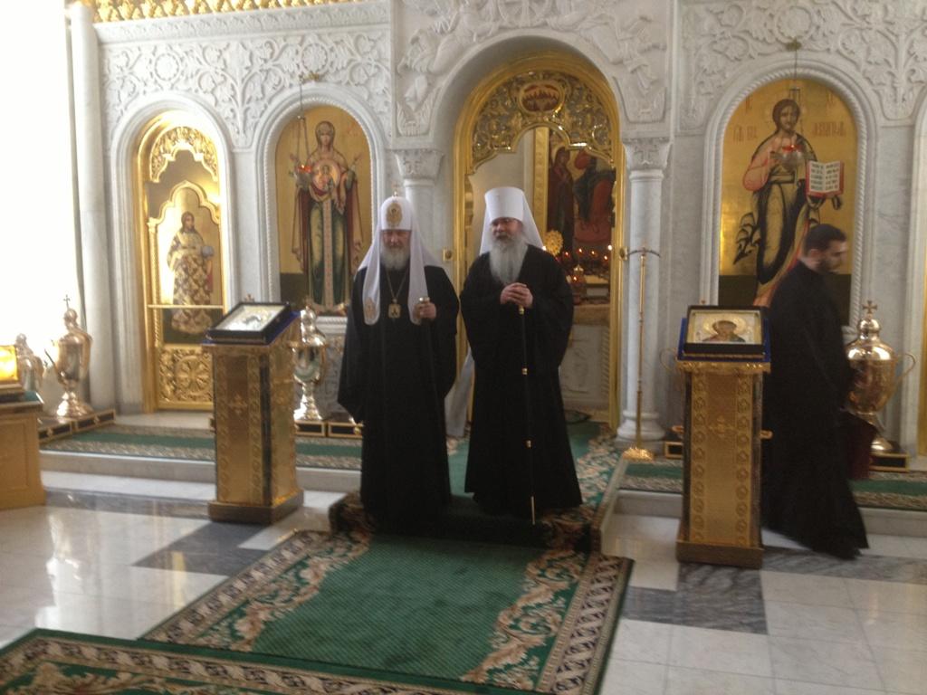 Patriarch Kirill & Metropolitan Tikhon