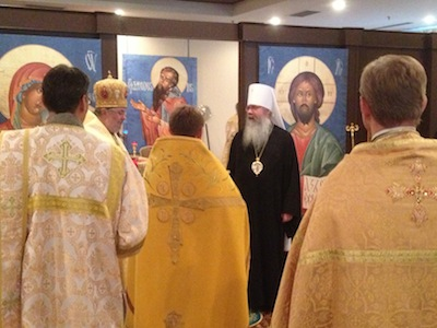 After Hierarchical Liturgy