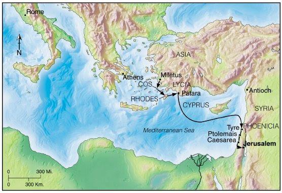 Map Jerusalem