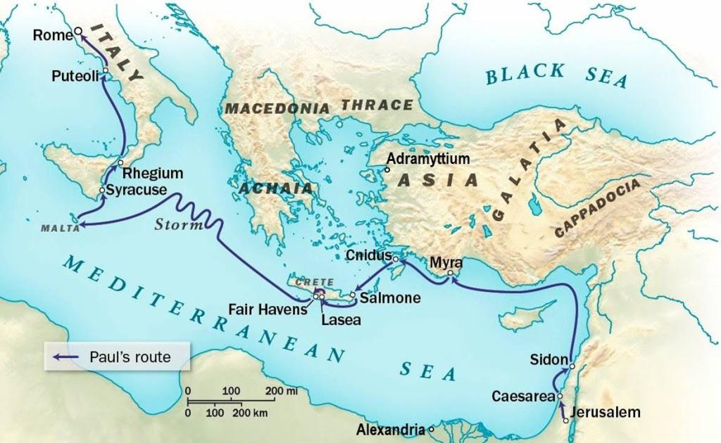 St Paul Voyage