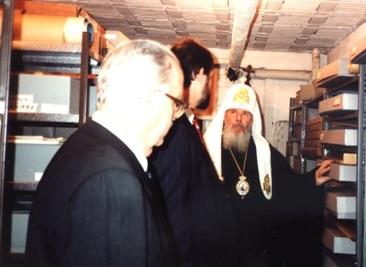 Patriarch Alexsy II of Moscow