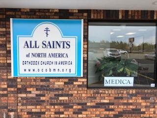 All Saints of North America Chapel